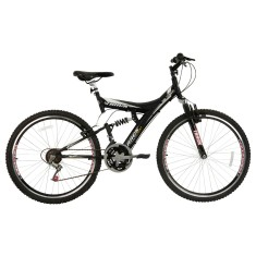 Foto Bicicleta Mountain Bike Track & Bikes 18 Marchas Aro 26 Suspensão Full Suspension Freio V-Brake TB 300