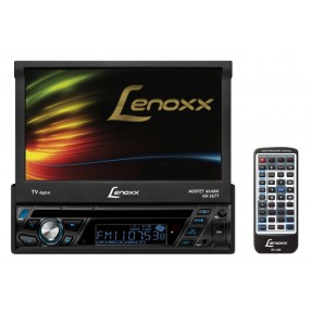 "Foto DVD Player Automotivo Lenoxx Sound 7 "" AD-2677 Touchscreen USB"
