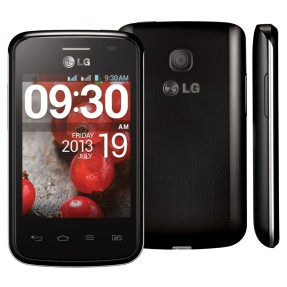 Smartphone LG Optimus L1 II Tri E475 Câmera 2,0 MP 3 Chips 4GB Android 4.1 (Jelly Bean) Wi-Fi 3G