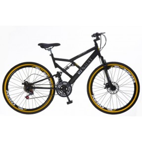 Foto Bicicleta Mountain Bike Colli Bikes Renault 21 Marchas Aro 26 Suspensão Full Suspension Freio a Disco 549