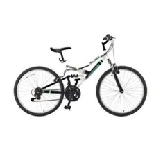 Foto Bicicleta Mountain Bike Fischer 21 Marchas Aro 26 Suspensão Full Suspension Freio V-Brake Hill Razer