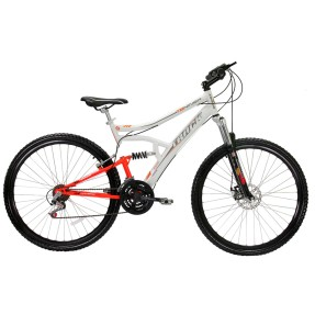 Foto Bicicleta Mountain Bike Track & Bikes 21 Marchas Aro 29 Suspensão Full Suspension Freio a Disco TB Niner