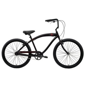 Foto Bicicleta Nirve Cruiser Aro 26 Freio V-Brake Red Star