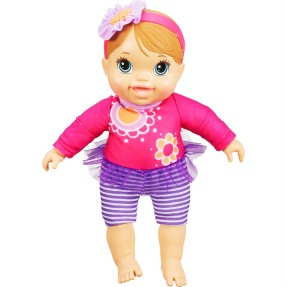 Foto Boneca Baby Alive Plays and Giggles Baby Hasbro