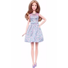 Foto Boneca Barbie Fashionistas Lovely in Lilac Mattel