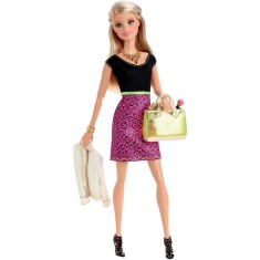 Foto Boneca Barbie Look do Dia CLL33 Mattel