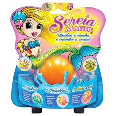Foto Boneca Concha Sereia Magic DTC