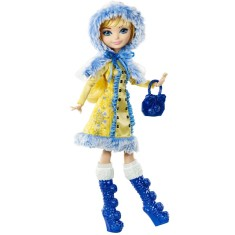 Foto Boneca Ever After High Feitiço de Inverno Blondie Lockes Mattel