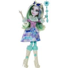 Foto Boneca Ever After High Feitiço de Inverno Crystal Winter Mattel