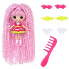 Foto Boneca Lalaloopsy Mini Loopy Hair Jewel Sparkles Buba