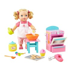 Foto Boneca Little Mommy Pequena Chef Mattel