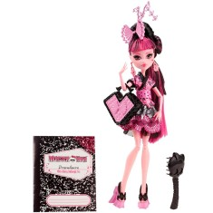 Foto Boneca Monster High Draculaura Intercâmbio Monstruoso Mattel