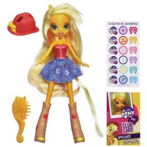 Foto Boneca My Little Pony Equestria Girls Apple Jack Hasbro