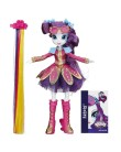 Boneca My Little Pony Equestria Girls Rainbow Rocks Rarity Penteados de Arrasar Hasbro