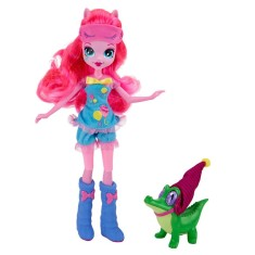 Foto Boneca My Little Pony Esquestria Girls Pinkie Pie e Gummy Snap Hasbro