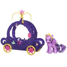 Foto Boneca My Little Pony Twilight e Carruagem Hasbro