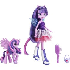 Foto Boneca My Little Pony Twilight Sparkle com Pônei Hasbro