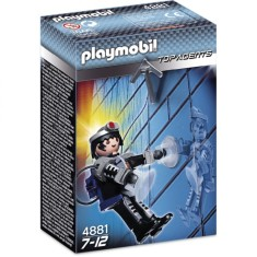 Foto Boneco Agente Secreto Playmobil Top Agents 4881 - Sunny