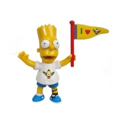 Foto Boneco Bart Simpsons I Love Krust - Multikids