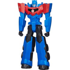 Foto Boneco Transformers Optimus Prime Robots In Disguise Titan Hero B0760/B1295 - Hasbro
