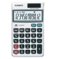 Foto Calculadora De Bolso Casio SL-320TV