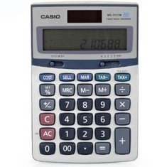 Foto Calculadora De Mesa Casio MS 310