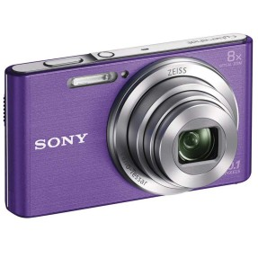 Foto Câmera Digital Sony Cyber-Shot DSC-W830 HD 20,1 MP | Marujo Store