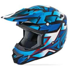 Foto Capacete Fly Kinetic Block Out Off-Road