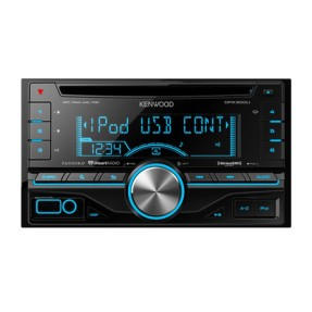 Foto CD Player Automotivo Kenwood DPX300U USB