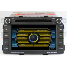 "Foto DVD Player Automotivo Caska 7 "" Sorento Touchscreen USB"