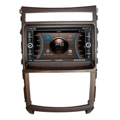 Foto Central Multimídia Automotiva Caska CA1624BR Touchscreen Bluetooth Entrada para camêra de ré