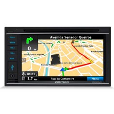 "Foto Central Multimídia Automotiva Pósitron 6 "" SP8920 NAV"