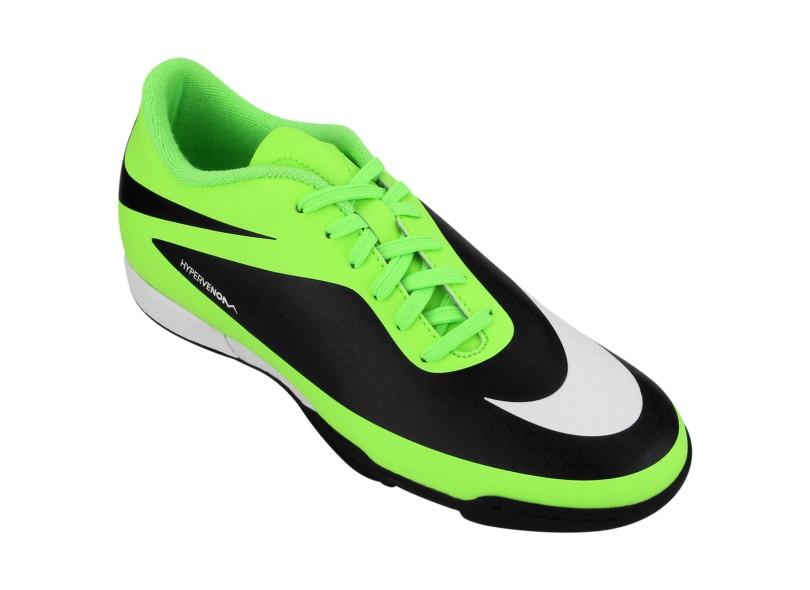 ... Chuteira Adulto Society Nike Hypervenom Phade TF  a9ed40f563a5a