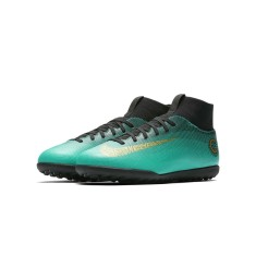Foto Chuteira Society Nike Mercurial Superfly VI Club CR7 Infantil
