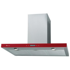 Foto Coifa Parede Fischer 90 cm Tradition Line Rouge 90 Inox