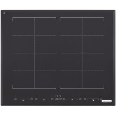 Foto Cooktop Tramontina 94744220 Design Collection Square Bridge Touch 4 Bocas