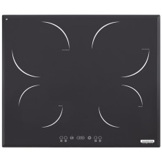 Foto Cooktop Tramontina 94721220 Design Collection Square Lune Touch 4 Bocas