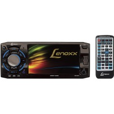 "Foto DVD Player Automotivo Lenoxx Sound 4 "" AD-2610 USB Entrada para camêra de ré"