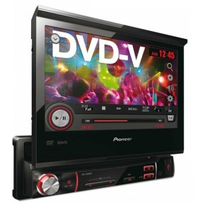 "Foto DVD Player Automotivo Pioneer 7 "" AVH-3580DVD Touchscreen USB"