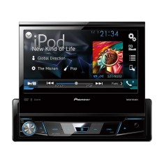 "Foto DVD Player Automotivo Pioneer 7 "" AVH-X7780TV USB Entrada para camêra de ré"