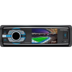"Foto DVD Player Automotivo Pósitron 3 "" SP 4730 DTV Bluetooth USB"