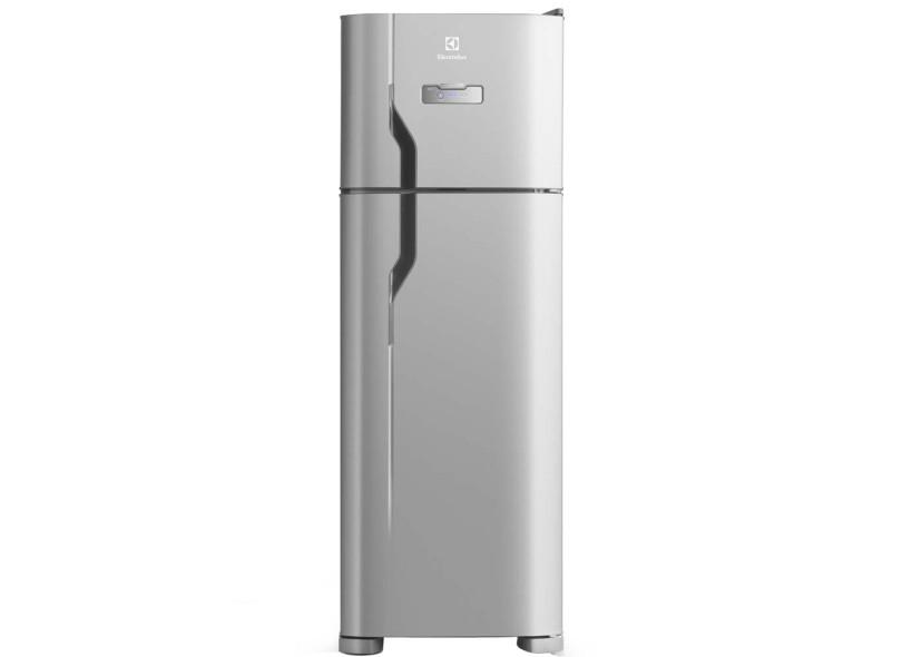 Top Geladeira Electrolux DFX39 Frost Free Duplex 310l Inox EA18