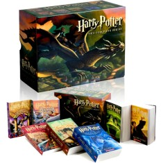 Foto Harry Potter Boxed Set (Books 1-7) - J.K. Rowling - 9780545162074