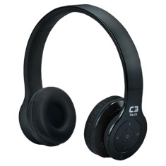 Foto Headphone Bluetooth C3 Tech com Microfone