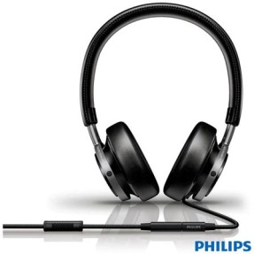 Foto Headphone Philips com Microfone Fidelio M1