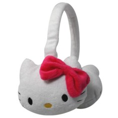 Foto Headphone Hello Kitty KIT-AUDJPELUCHE Ajuste de Cabeça
