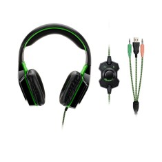 Foto Headset Multilaser com Microfone Dual Shock Led PH180