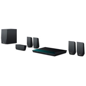 Foto Home Theater Sony com Blu-Ray 3D 1.000 W 5.1 Canais 1 HDMI BDV-E2100