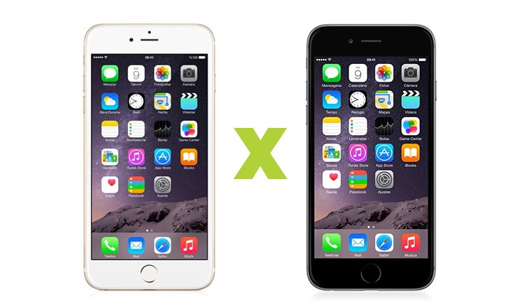 fotos iphone 6 vs iphone 6s
