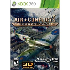 Foto Jogo Air Conflicts Secret Wars Xbox 360 Kalypso Media